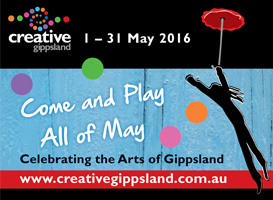 Creative Gippsland A4 brochure