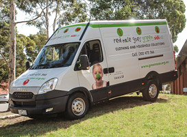 Red Nose Goes Green van thumb