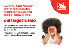 Red Nose Leader advertising