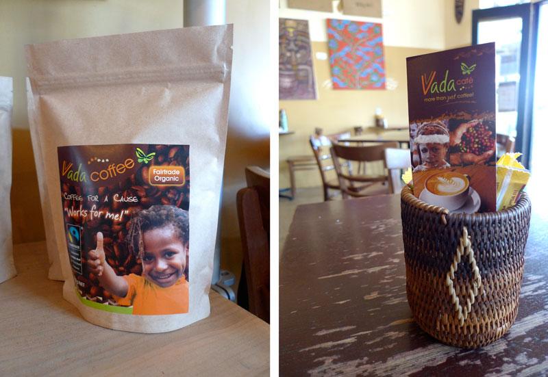 Vada café packaging