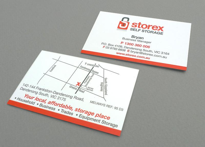 Storex business card