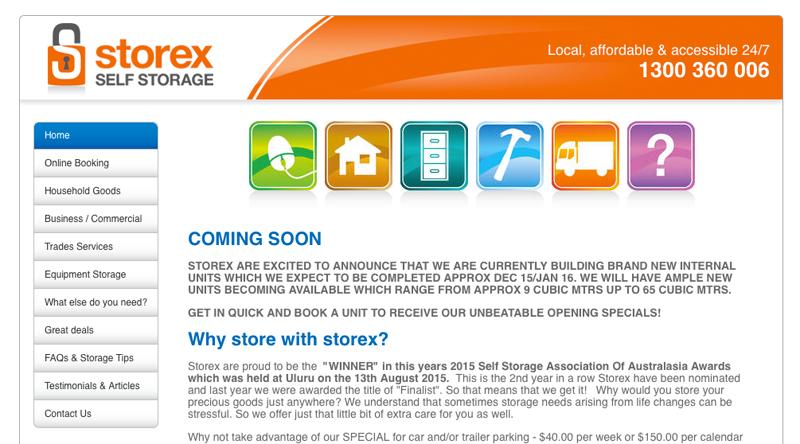 Storex web