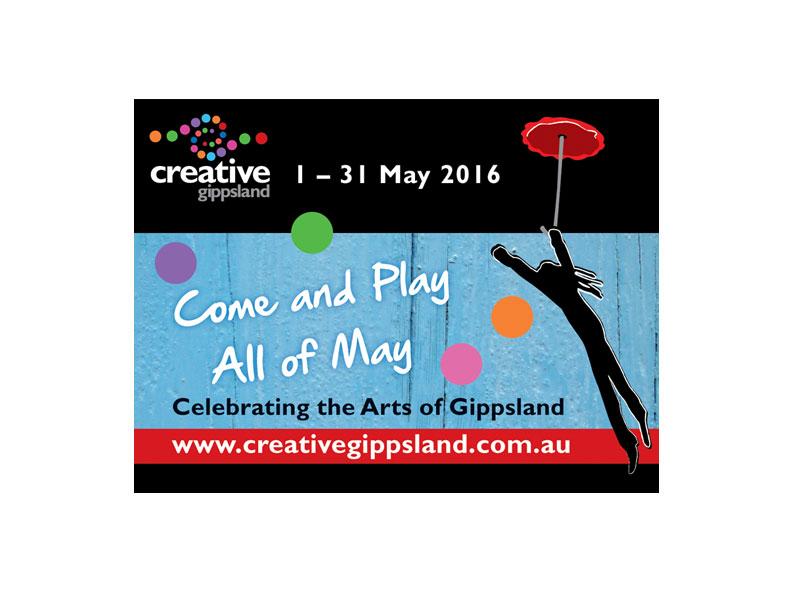 creative gippsland event Facebook advert