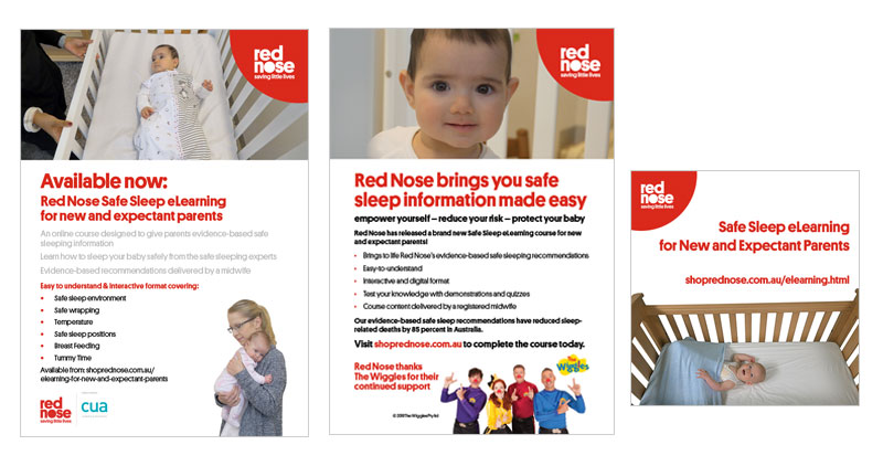 Red Nose eLearning promotion