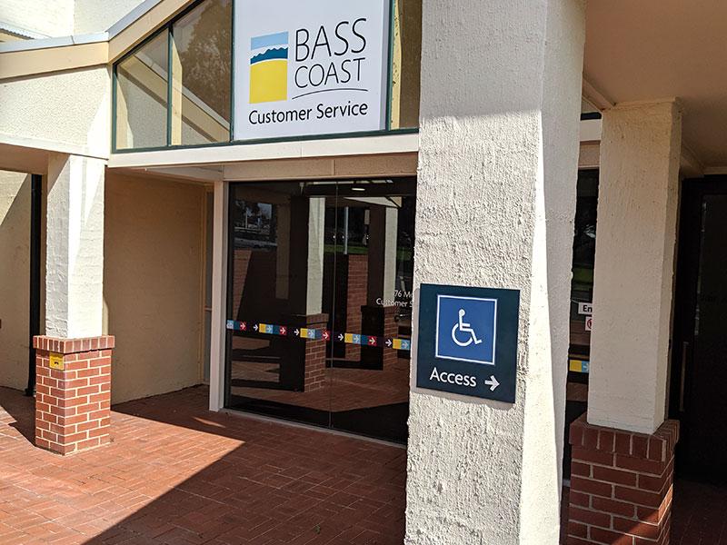 Bass Coast Shire Council Customer Service Centre