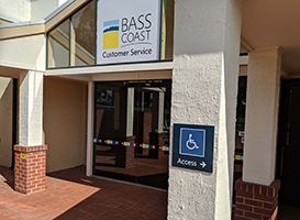 Bass Coast Shire Council Customer Service buildings exterior signs