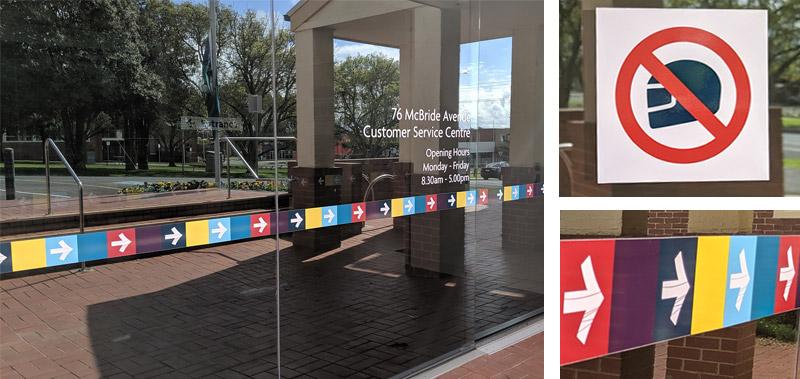 Bass Coast Shire Council Customer Service Centre window